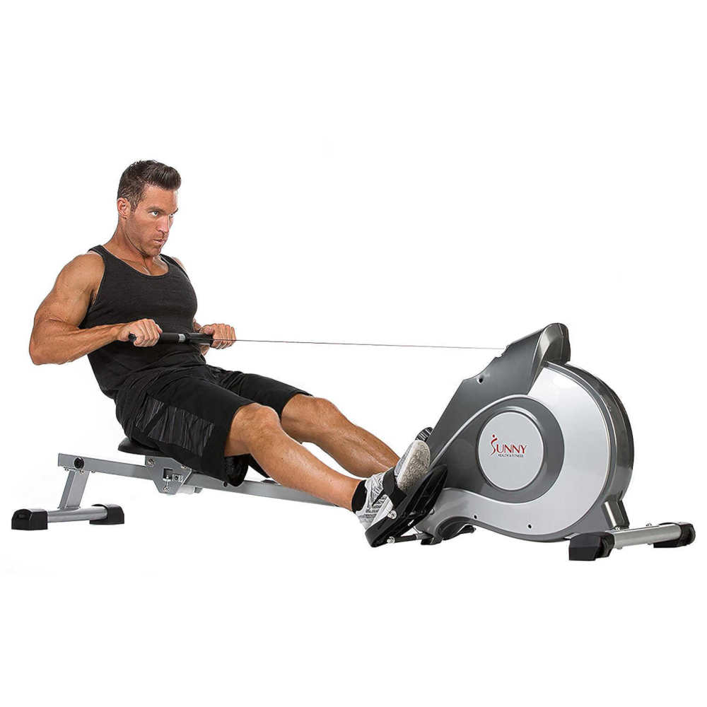 Sunny Health and Fitness Magnetic Rowing Machine with LCD Monitor SF-RW5515 Review