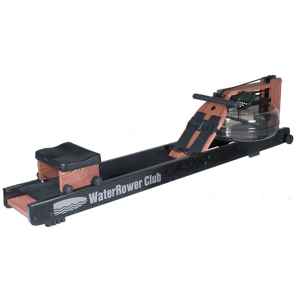 Water Rower Club Rowing-Machine with-S4-Monitor