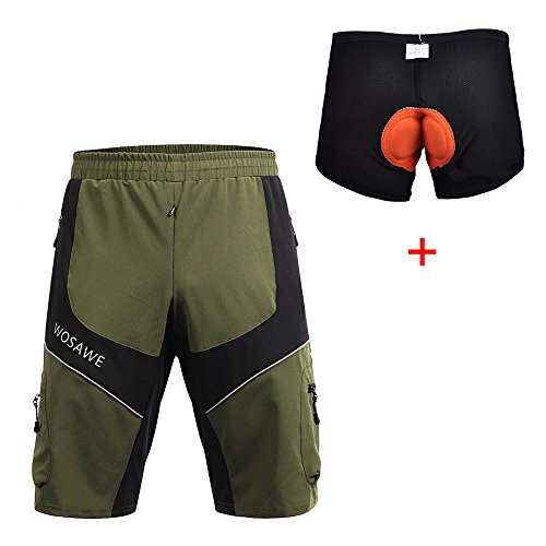 WOSAWE Mountain Loose Fit Cycling Underwear