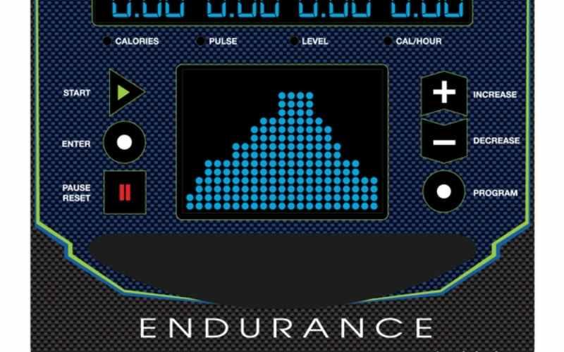 Body Solid E300 console