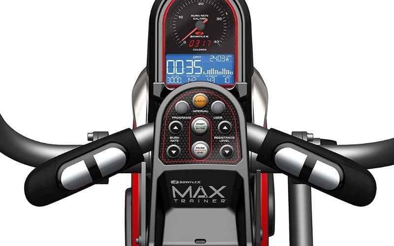 Bowflex Max Trainer 5 monitor