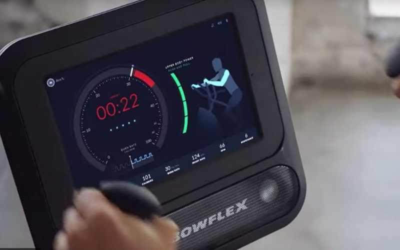 Bowflex Max Trainer Total screen