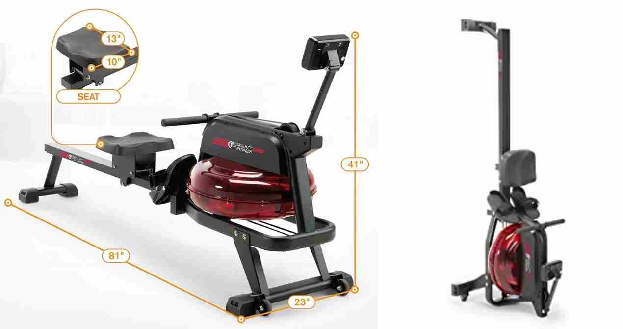 Circuit Fitness Water Rowing Machine Review