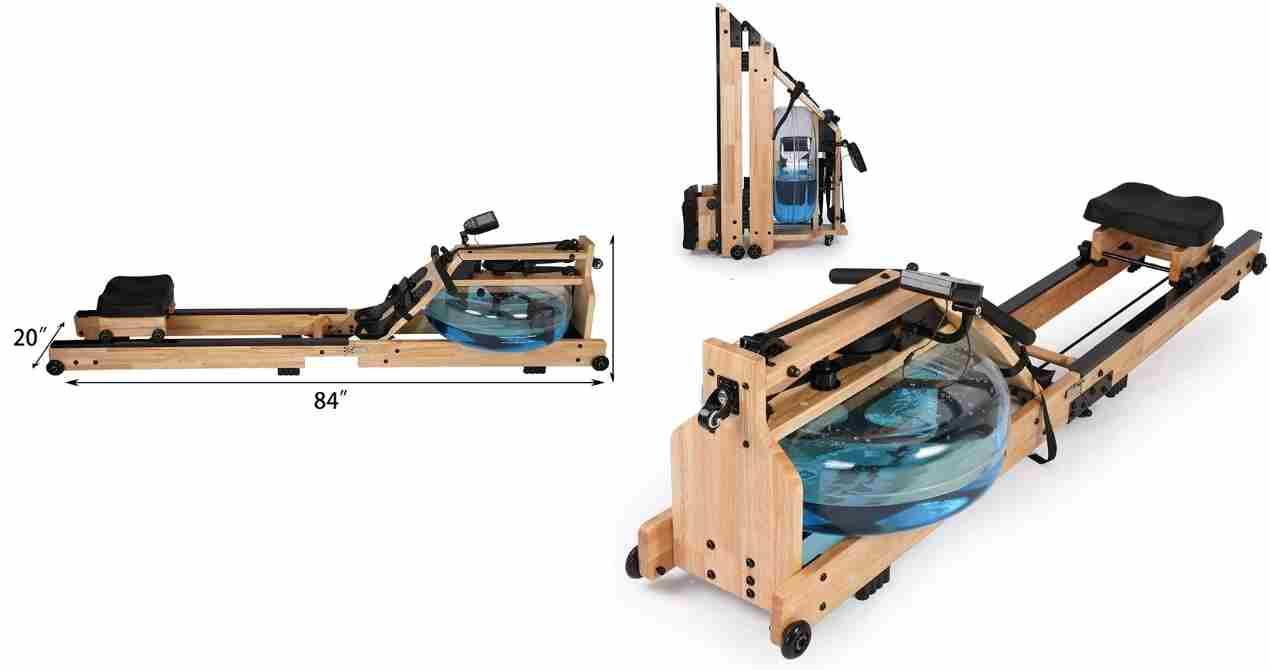 Koreyosh Water Rowing Machine Review