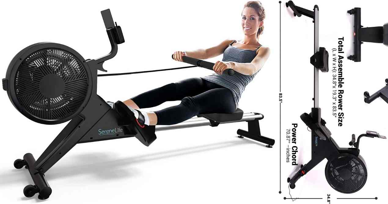 SereneLife-Smart-Home-Rowing-Machine-Review