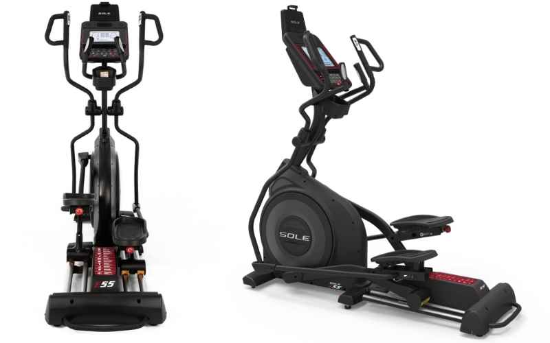 Sole Fitness E55 front view
