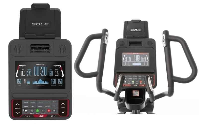 Sole Fitness E98 Console