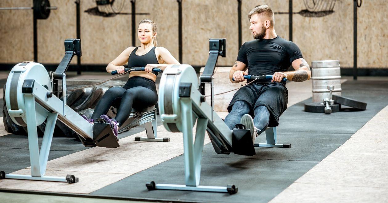 best rowing machine mats