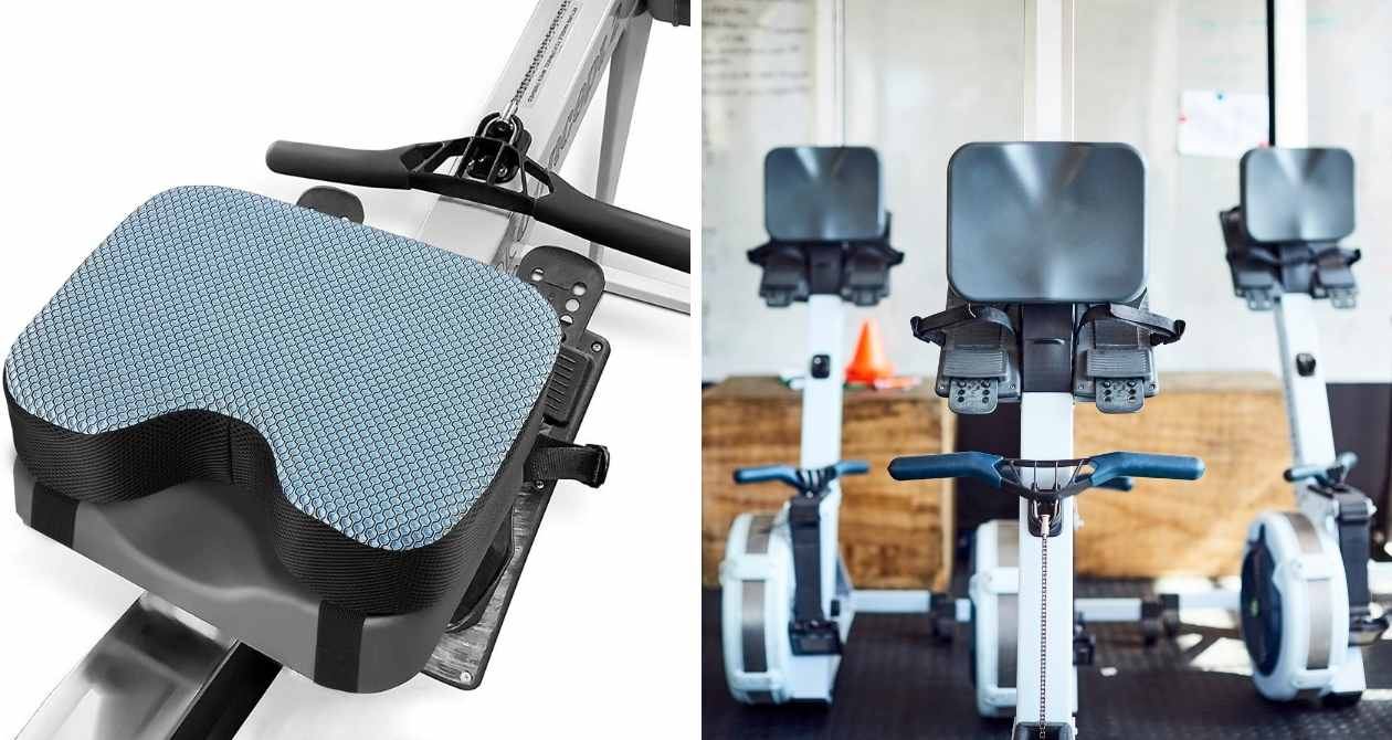 best rowing machine seat cushions