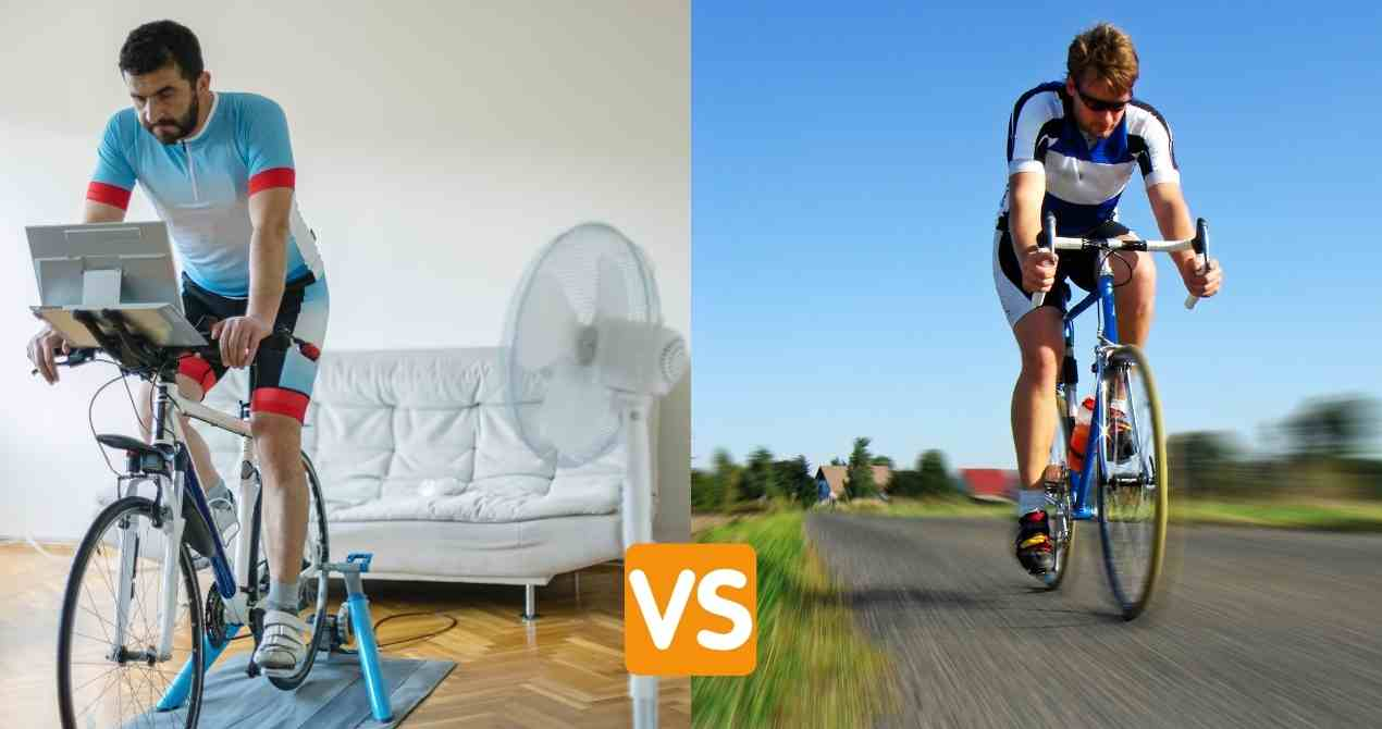 indoor cycling vs outdoor cycling