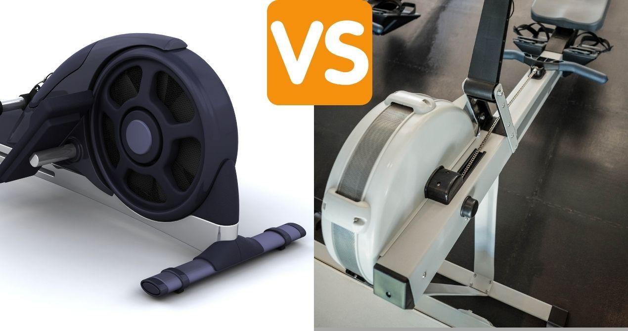 magnetic-resistance-vs-air-resistance-rowers