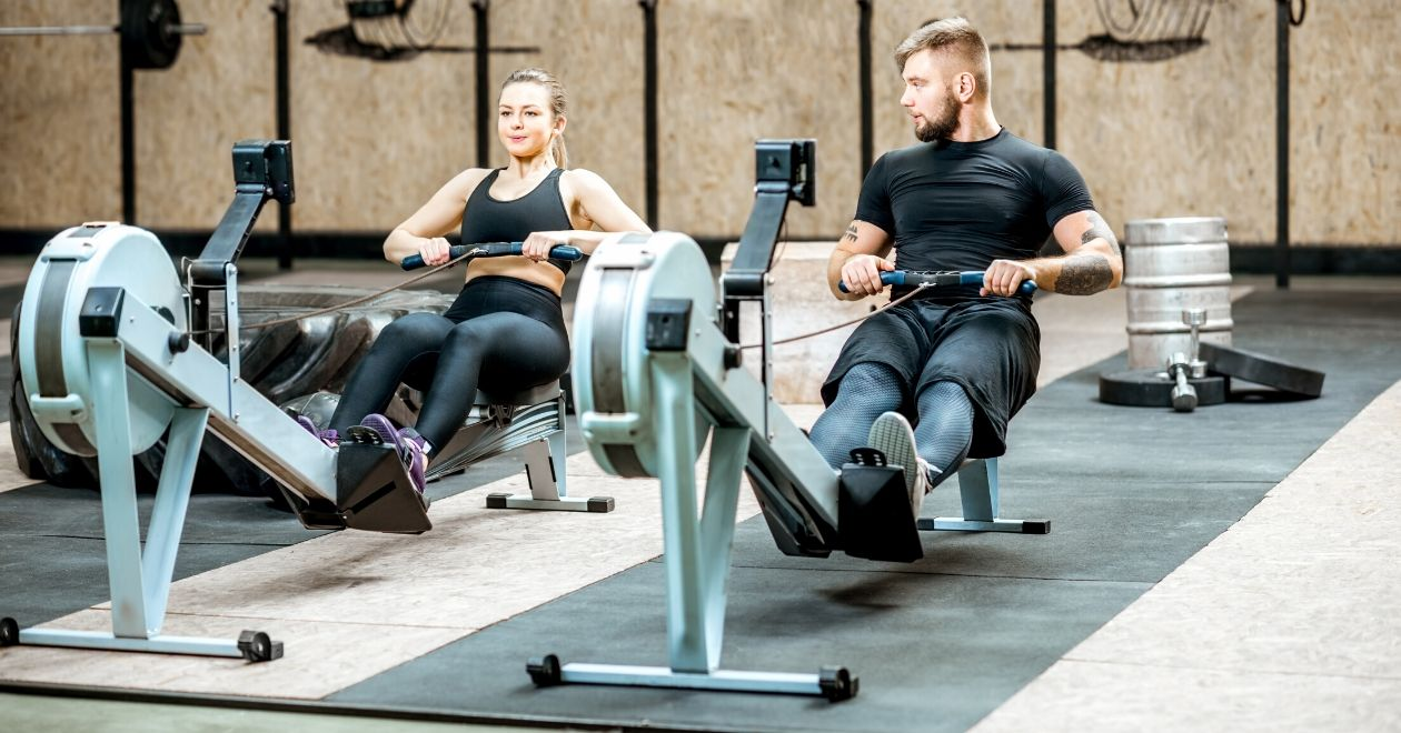 rowing works for strength and cardio