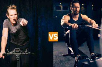 spin bike vs indoor rower