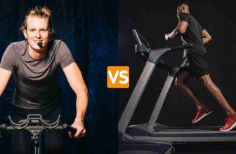 spin bike vs treadmill